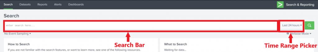 Splunk-search-bar