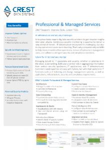 Splunk professional service Data Sheet